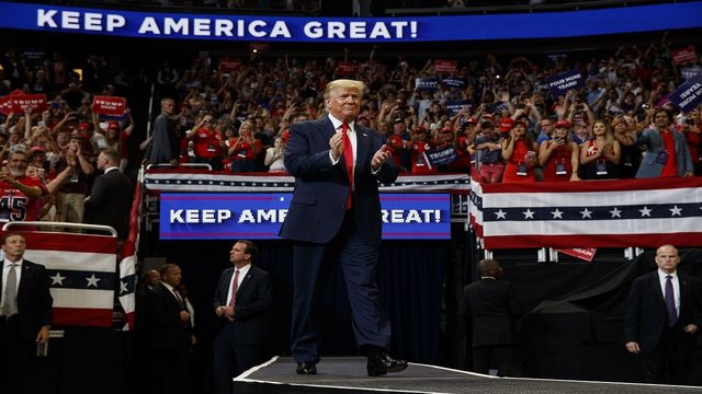 UPDATES: President Donald Trump re-election rally underway in Orlando