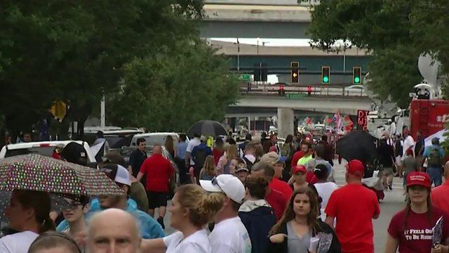 Crowds gather for 45 Fest