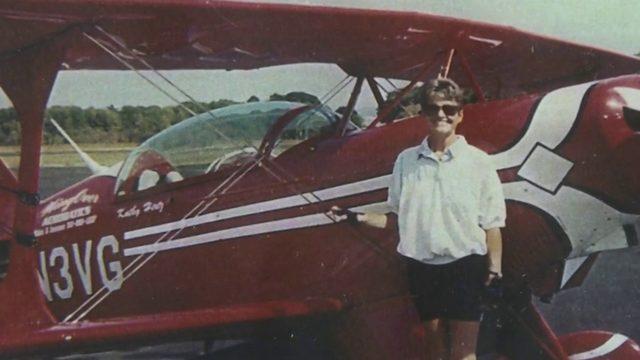 Female aerobatics pilot defies odds