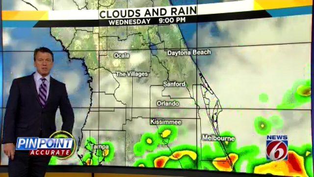 News 6 evening video forecast -- 6/18/19