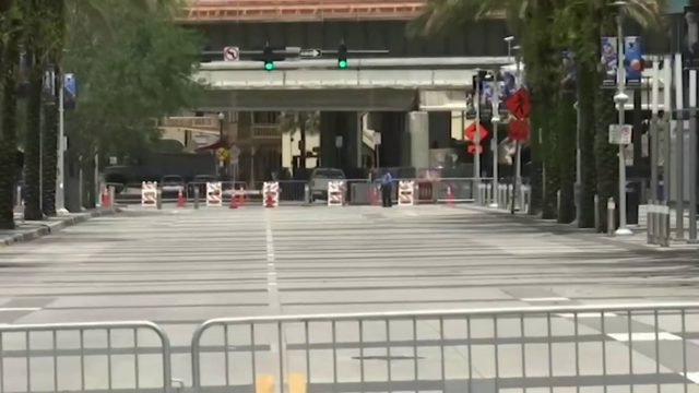 Orlando preps for huge crowds for Trump rally