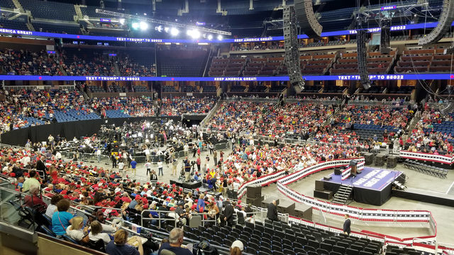 Here's what's happening at the Trump rally in Orlando