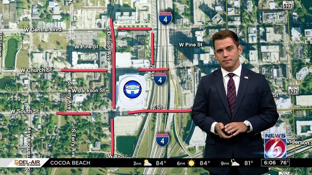 Trump rally will close several Orlando roads