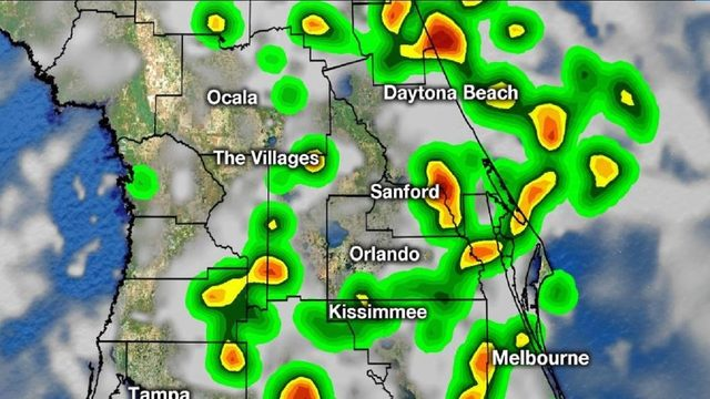 WATCH LIVE: Storms target downtown Orlando