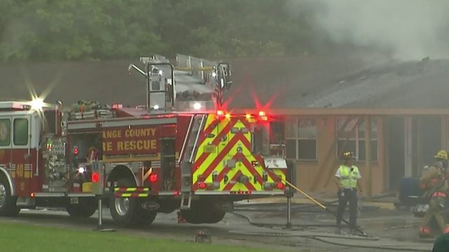 Fire destroys units at Mount Dora recovery center, likely caused by…