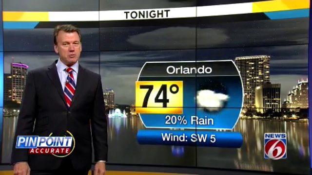 News 6 evening video forecast -- 6/19/19