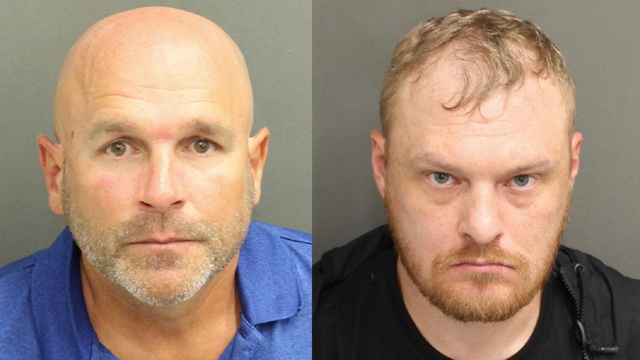 These two men were arrested at President Trump's Orlando rally