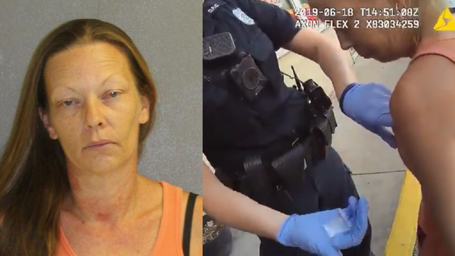 Video: Grandma brings barefoot 2-year-old along for heroin run, deputies say
