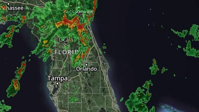 Strong storms possible in Central Florida