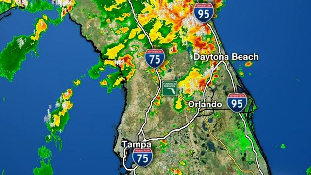 Tornado warning in effect for parts of Orange, Osceola counties