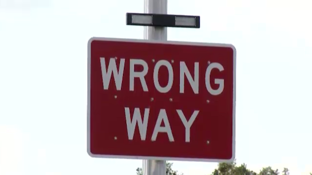 Traveling in the right lane could help prevent wrong-way crashes