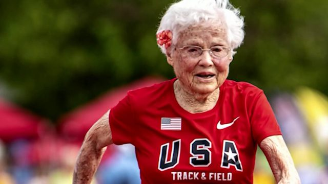 103-year-old athlete wins gold in Senior Games becoming oldest to compete