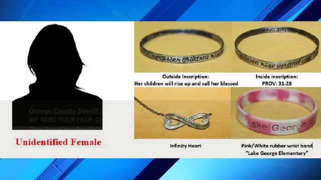 Orange County deputies hope jewelry helps identify homicide victim
