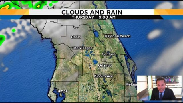 Troy Bridges takes a close look at rain chances