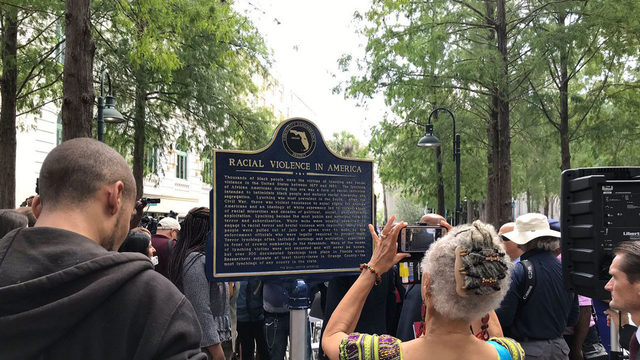 Marker at Orange County History Center unveiled to honor victims of race riot