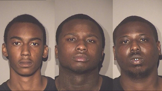 Three arrested, one at large after Osceola County pursuit