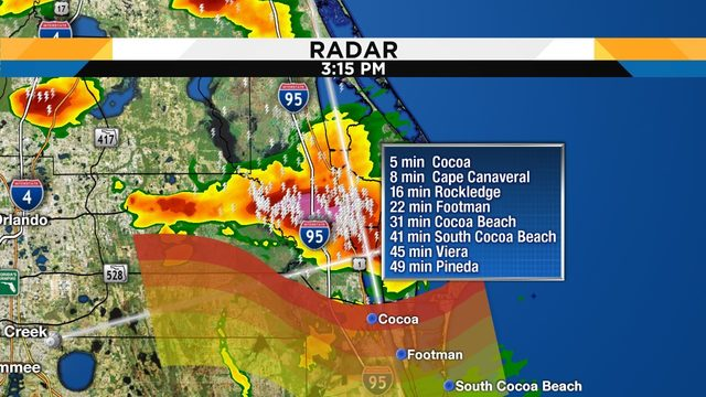 WATCH LIVE RADAR: Strong storms make their way toward Central Florida