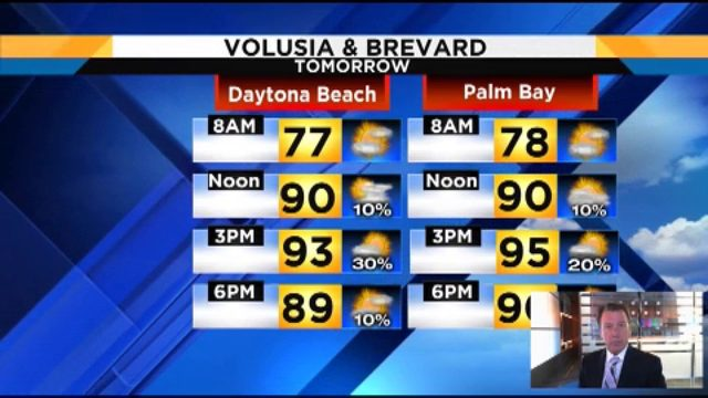 Heat index could reach 102 in Central Florida on Tuesday