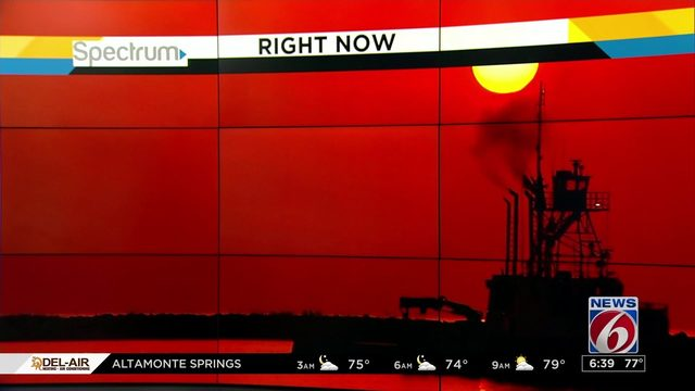 Saharan dust brings gorgeous sunrise to Central Florida