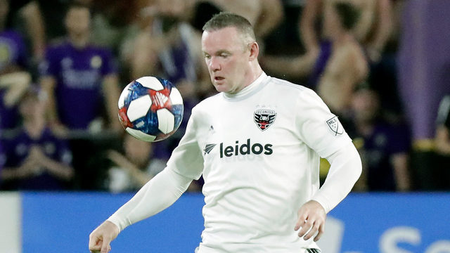 Wayne Rooney scores from 70 yards, DC United tops Orlando 1-0