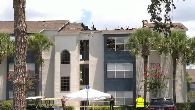 Fire damages 20 units at Winter Park apartment complex