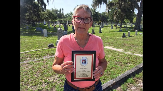 Amateur historian brings long-lost headstones back to St. Cloud cemetery