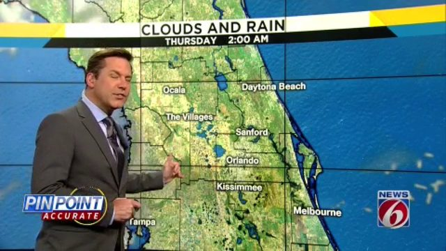 Near record heat grips Central Florida