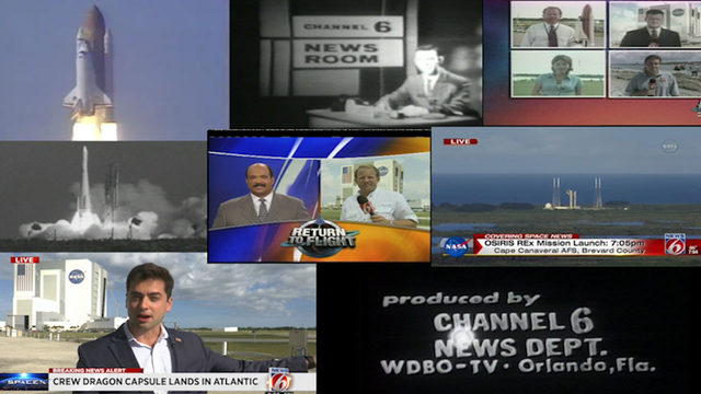 Looking back, 60 years of WKMG coverage of Space Coast, launch history