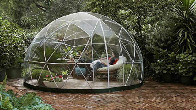 This Amazon backyard 'garden igloo' will make you reevaluate all your…