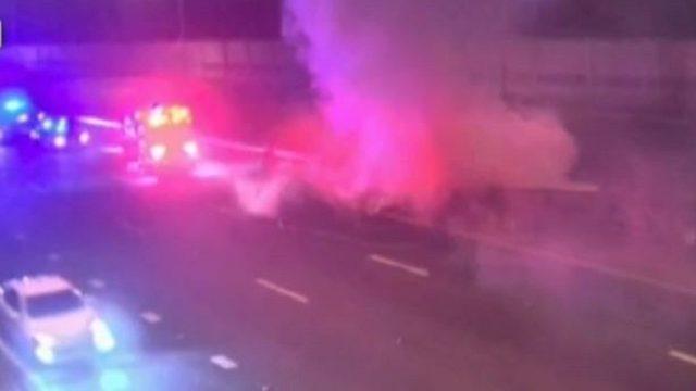 1 dead in fiery crash on SR 417 in Orange County