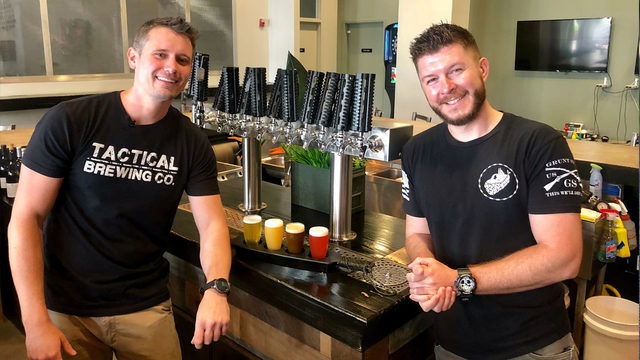Veteran-owned brewery serves as popular military community meetup spot