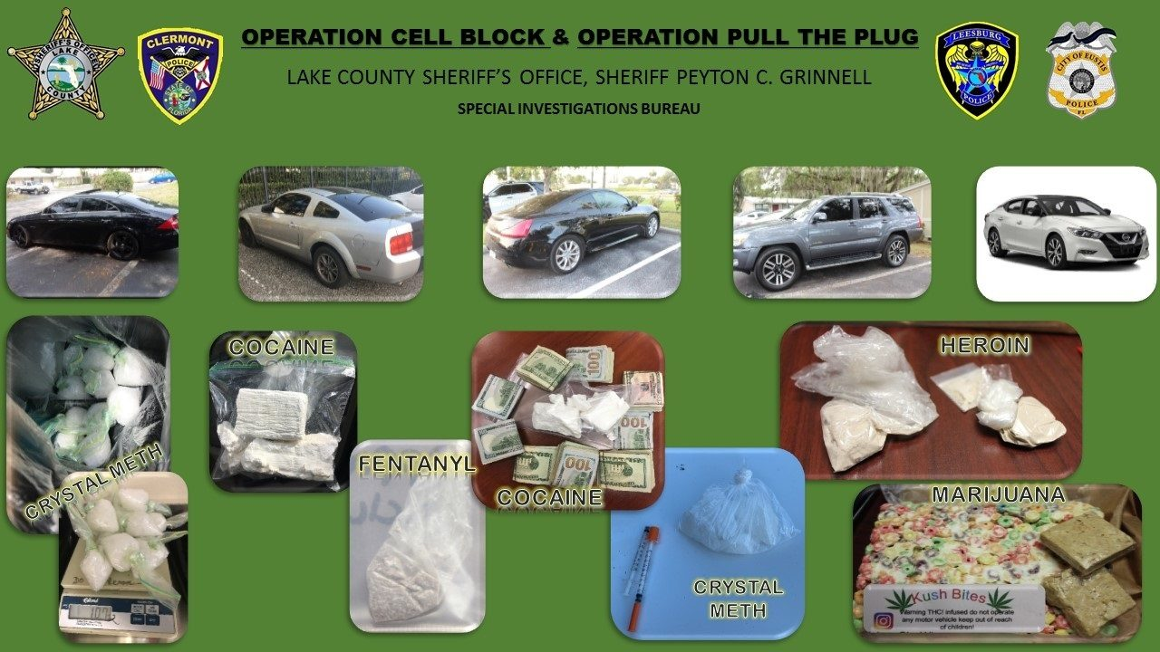 High-level drug traffickers arrested in undercover operations,
