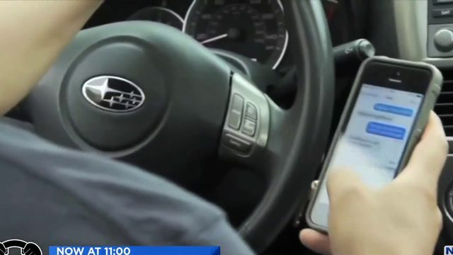 New texting and driving law starts Monday