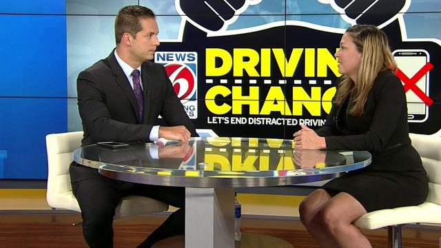 Florida politician talks about new texting and driving law