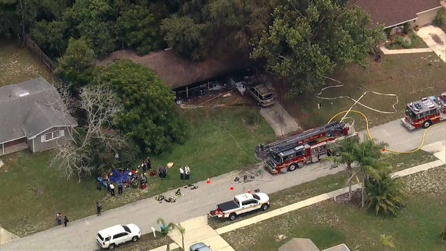 Dog found dead, women hospitalized after Deltona house fire, officials say
