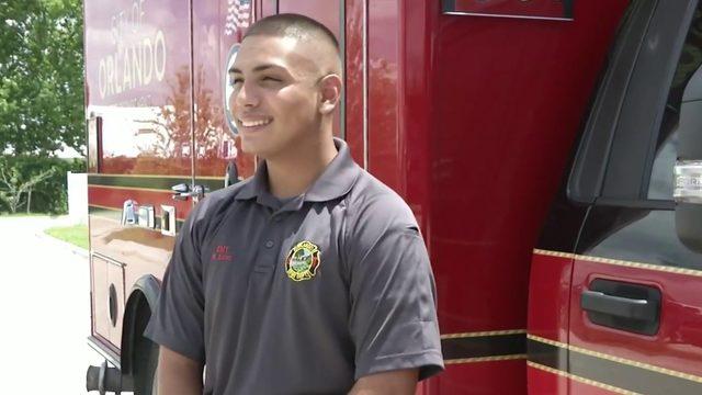 Salute to Service: Orlando fire EMT Robert Soto