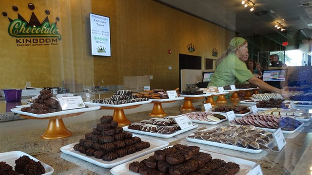Orlando's Chocolate Kingdom gives guests a mouthwatering experience