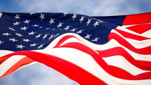 There's a code for displaying American flag -- are you following it?