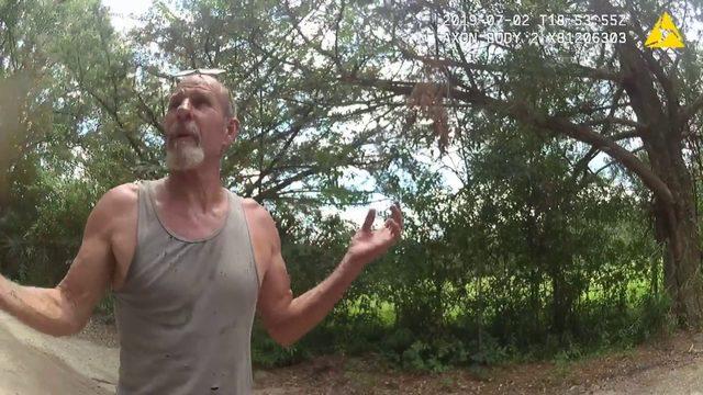 Man accused of shooting in neighbor's trailer