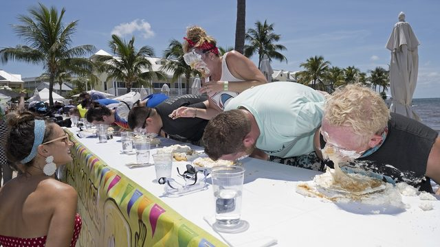 Florida man wins July 4 key lime pie-eating contest