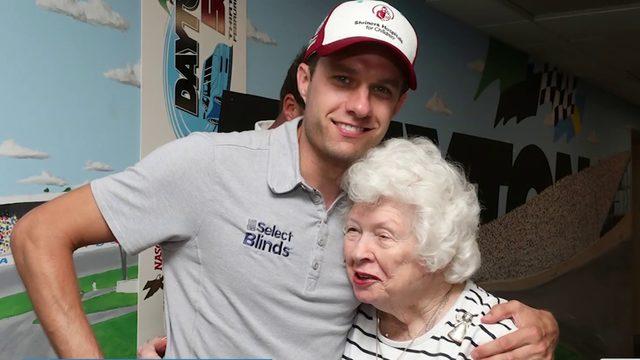 Nascar's 99-year-old employee a fixture in Daytona