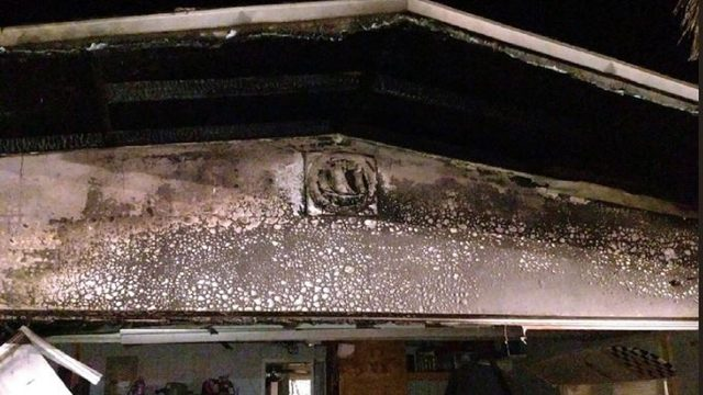 Discarded fireworks spark Brevard house fire