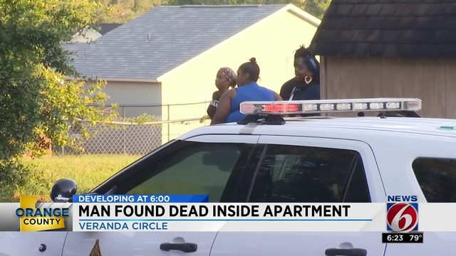 Man found dead inside apartment
