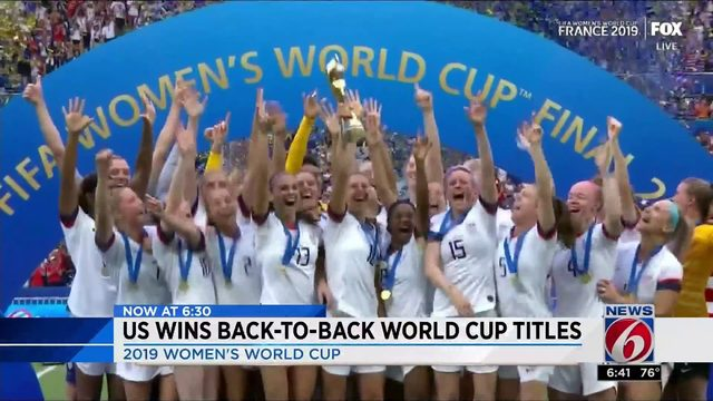 US WINS WORLD CUP TITLE