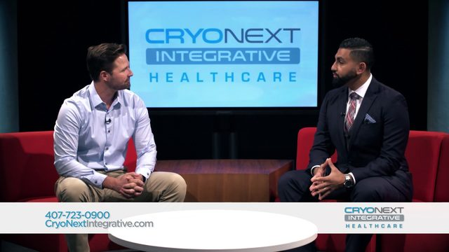 CryoNext Integrative Healthcare is an easy and natural solution to healthcare