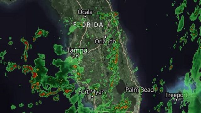 LIVE RADAR: More storms soak Central Florida