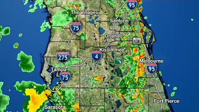 LIVE RADAR: More sea breeze storms soak Central Florida