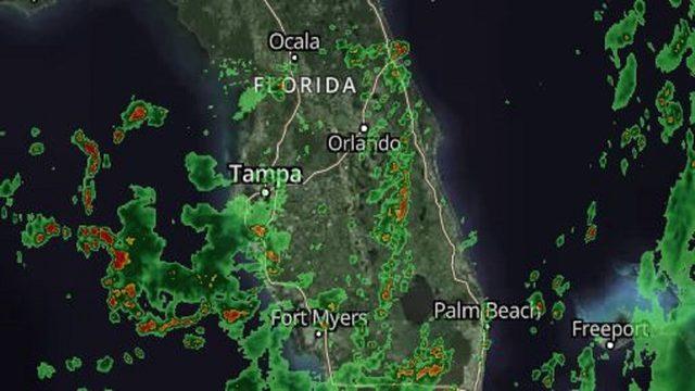 LIVE RADAR: More sea breeze storms soak Central Florida