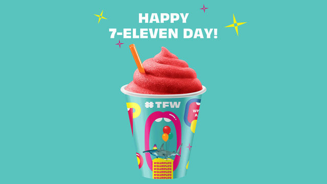 Free Slurpee on 7-11 Day at 7-Eleven Thursday