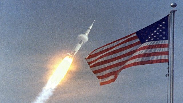 Relive the Saturn V/Apollo 11 launch at Kennedy Space Center